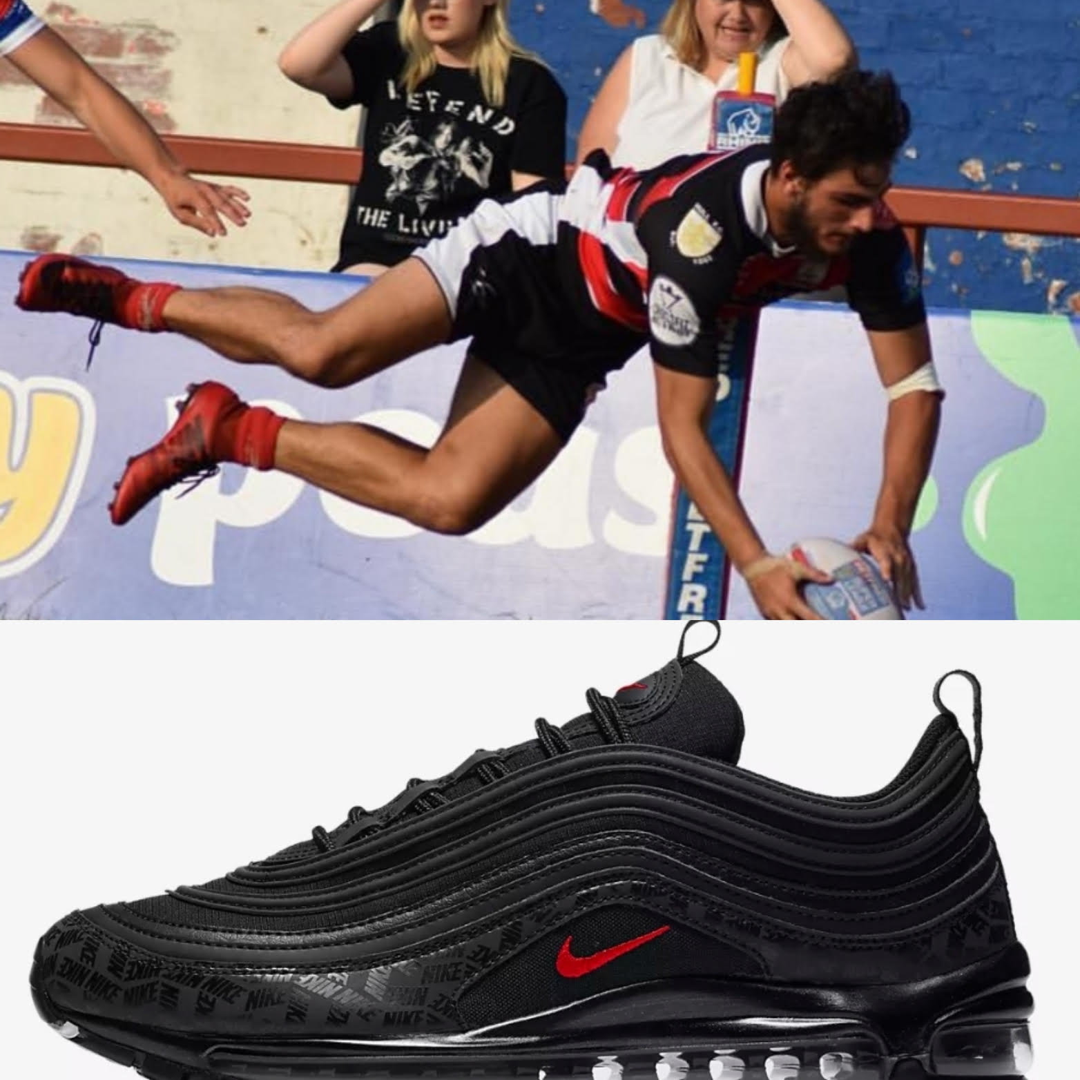 Yet to make his first team debut, Academy Star Josh Atkinson has chosen these Air Max 97's boy are they beautiful!