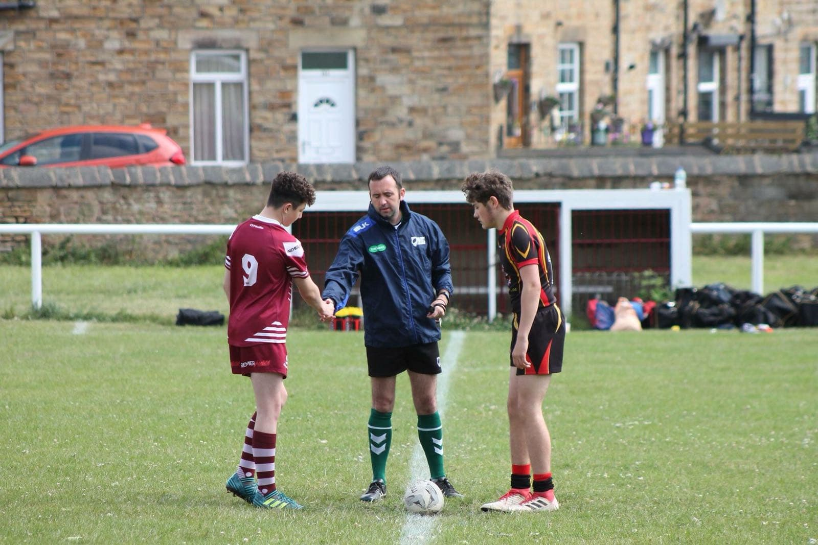 Jason Woodman holds many roles in the rugby community including refereeing across multiple levels.