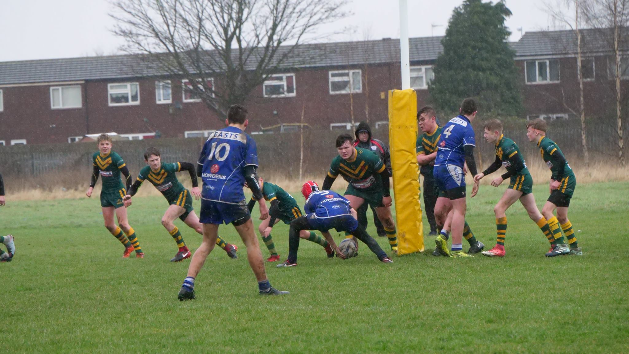 West Hull u15s in action