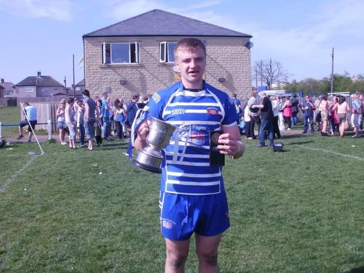 Tom came up through the youth ranks at Siddal.
