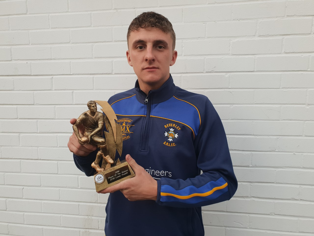 Lewis Poskitt was named GRM SPORT's open age player of the year for season 2 (2018)