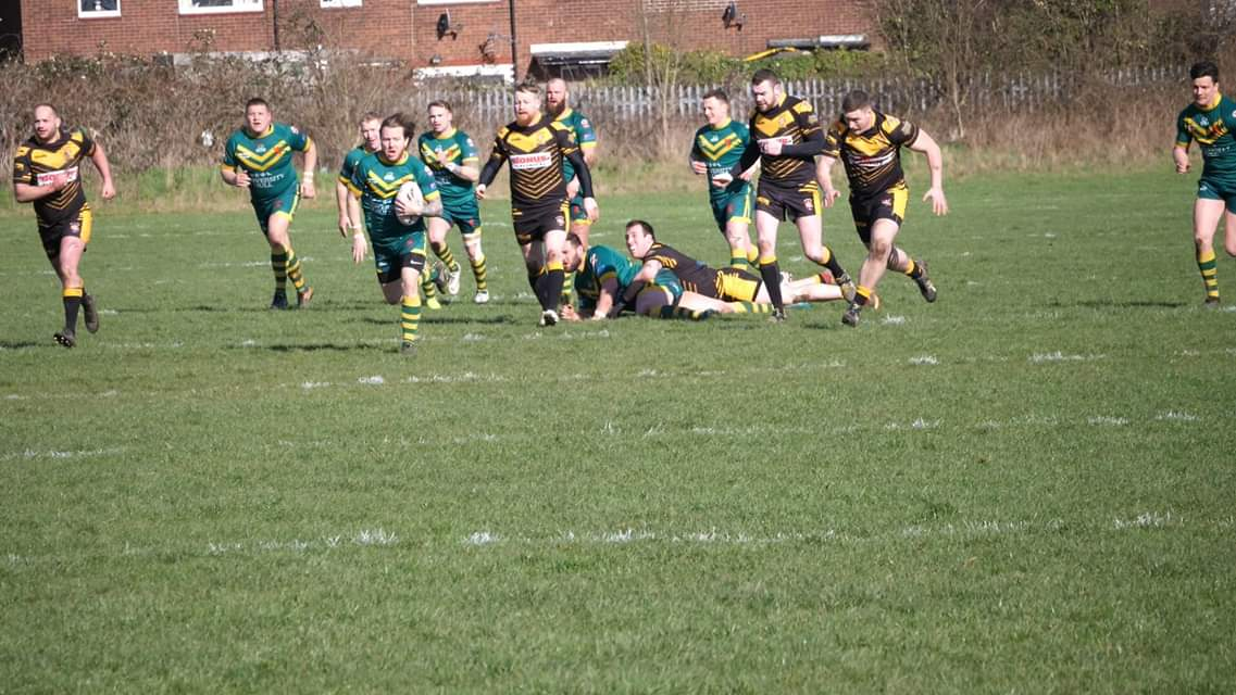 Scotty Partis making a break for West Hull