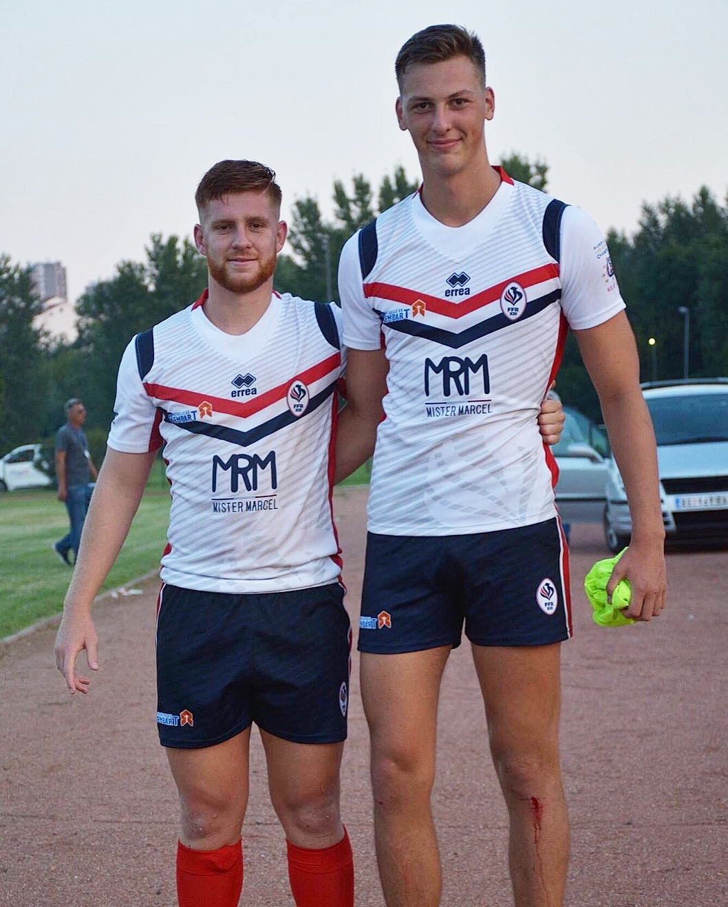 At 6 foot 8 Corentin is a very unique athlete in Rugby League