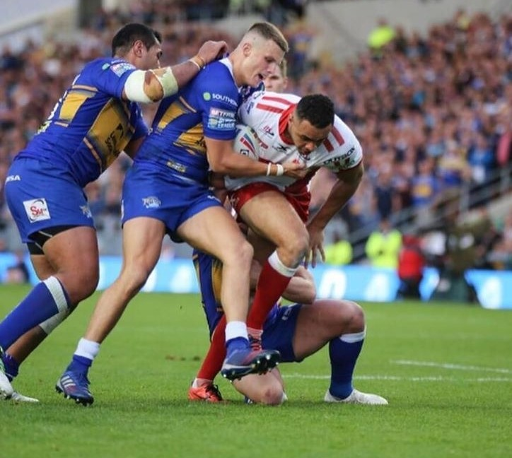 Johnson was a handful against Leeds Rhinos