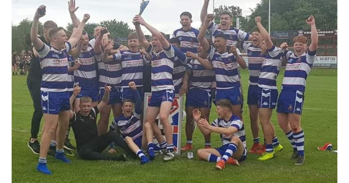 Siddal U16s: National Cup Champions 2019