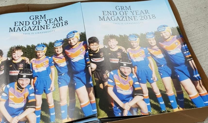 Last year's magazine.
