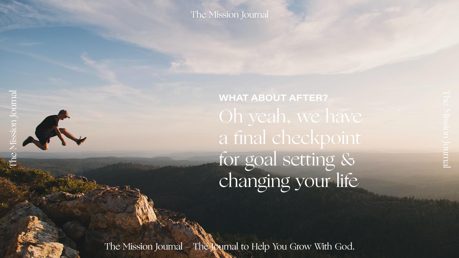 Mission Trip JournalSet Goals After Your Missionary Trip.jpg