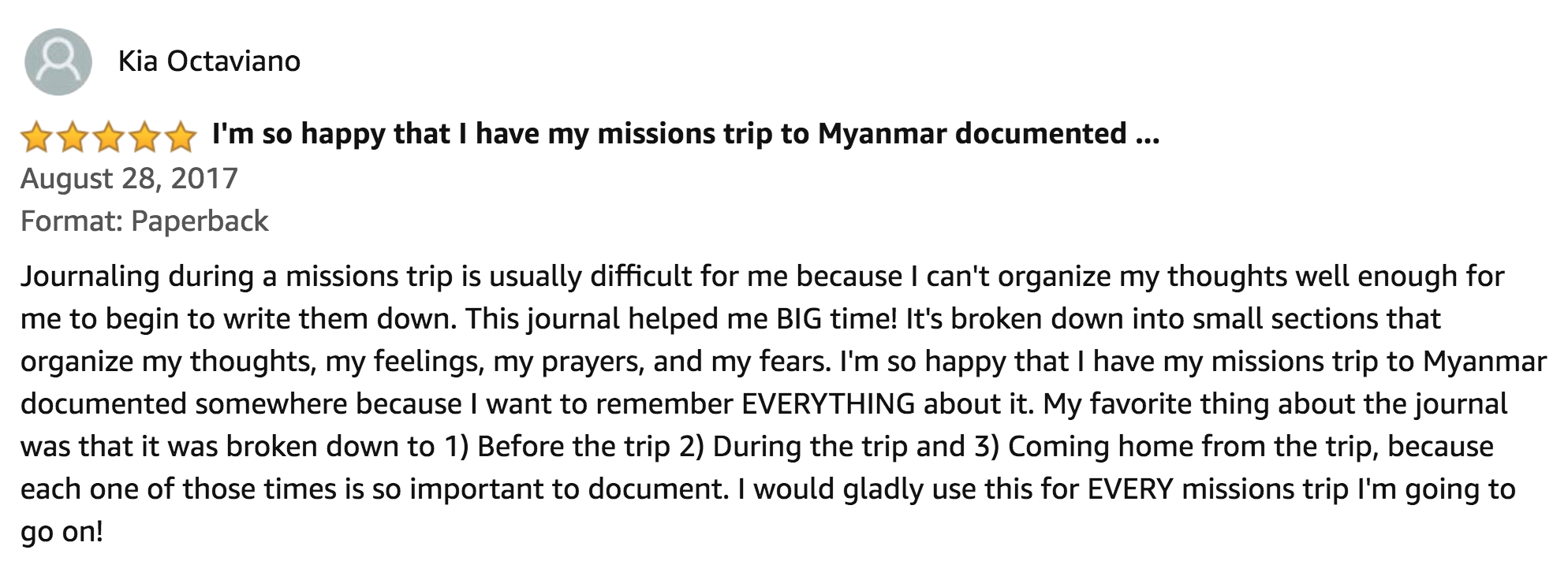 Journal Your Christian Missionary Experience.png