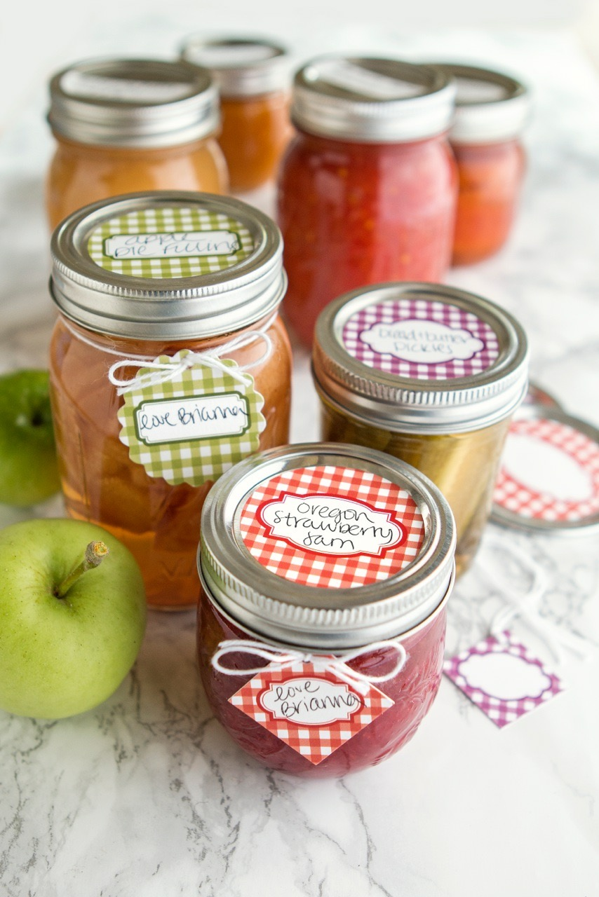 Canning Label Kit