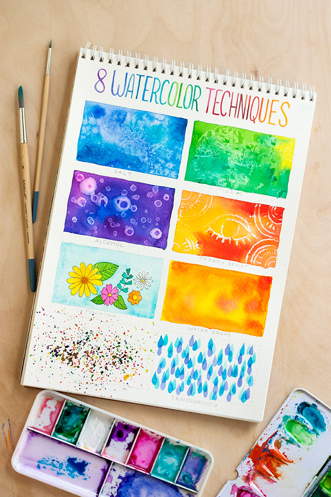8 Watercolor Techniques For Beginners