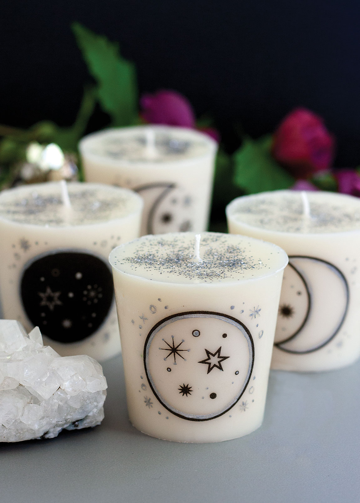 Moon Phase Intention Candles