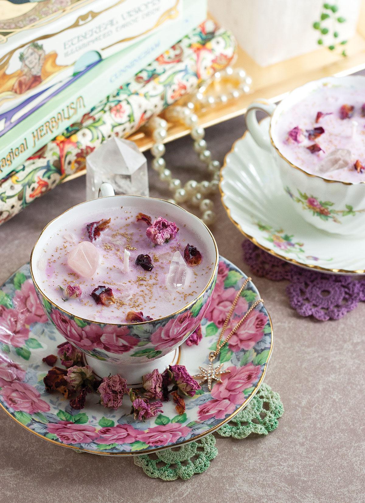 Fairytale Teacup Candle