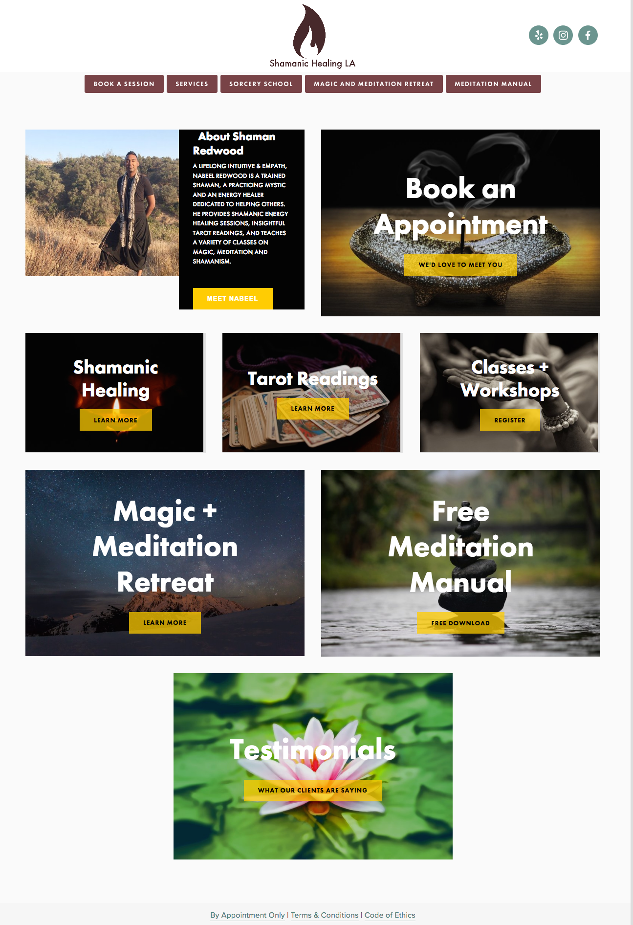 Shamanic Healing LA Website Sample 1.png