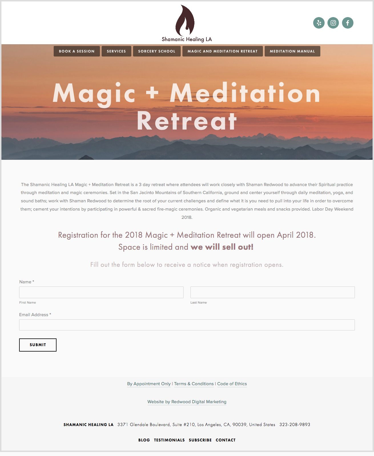 Shamanic Healing LA Website Sample 2.png