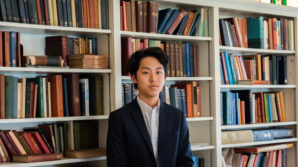 Thomas Wang '20,<br>Director of Finances