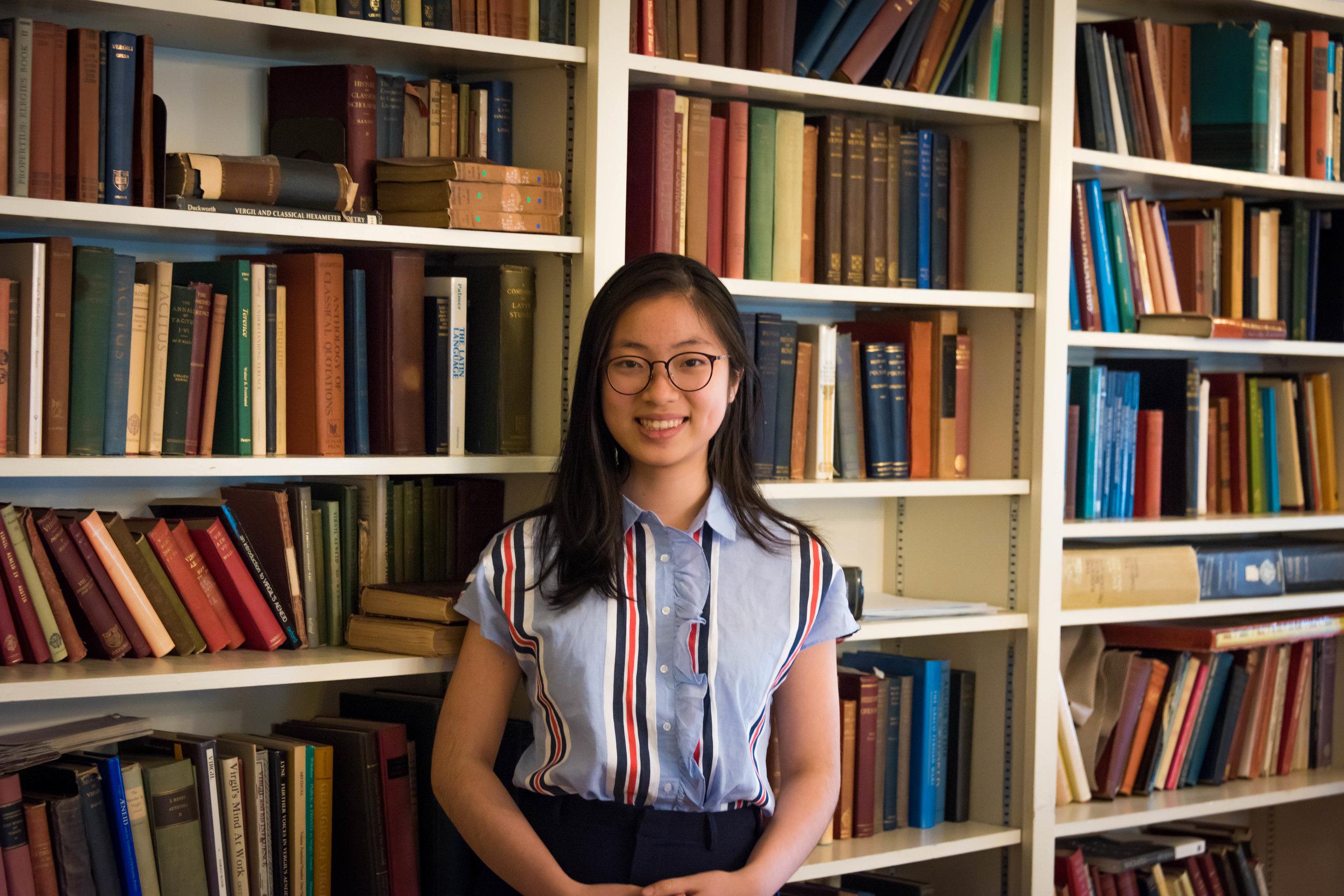 Mai Hoang '20,<br>Secretary General