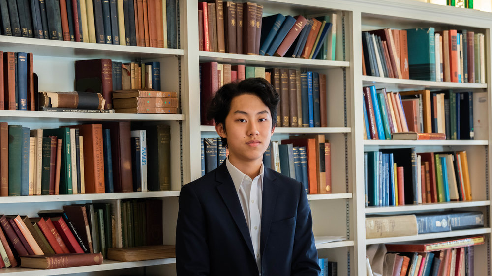 Thomas Wang '20,<br>Comptroller