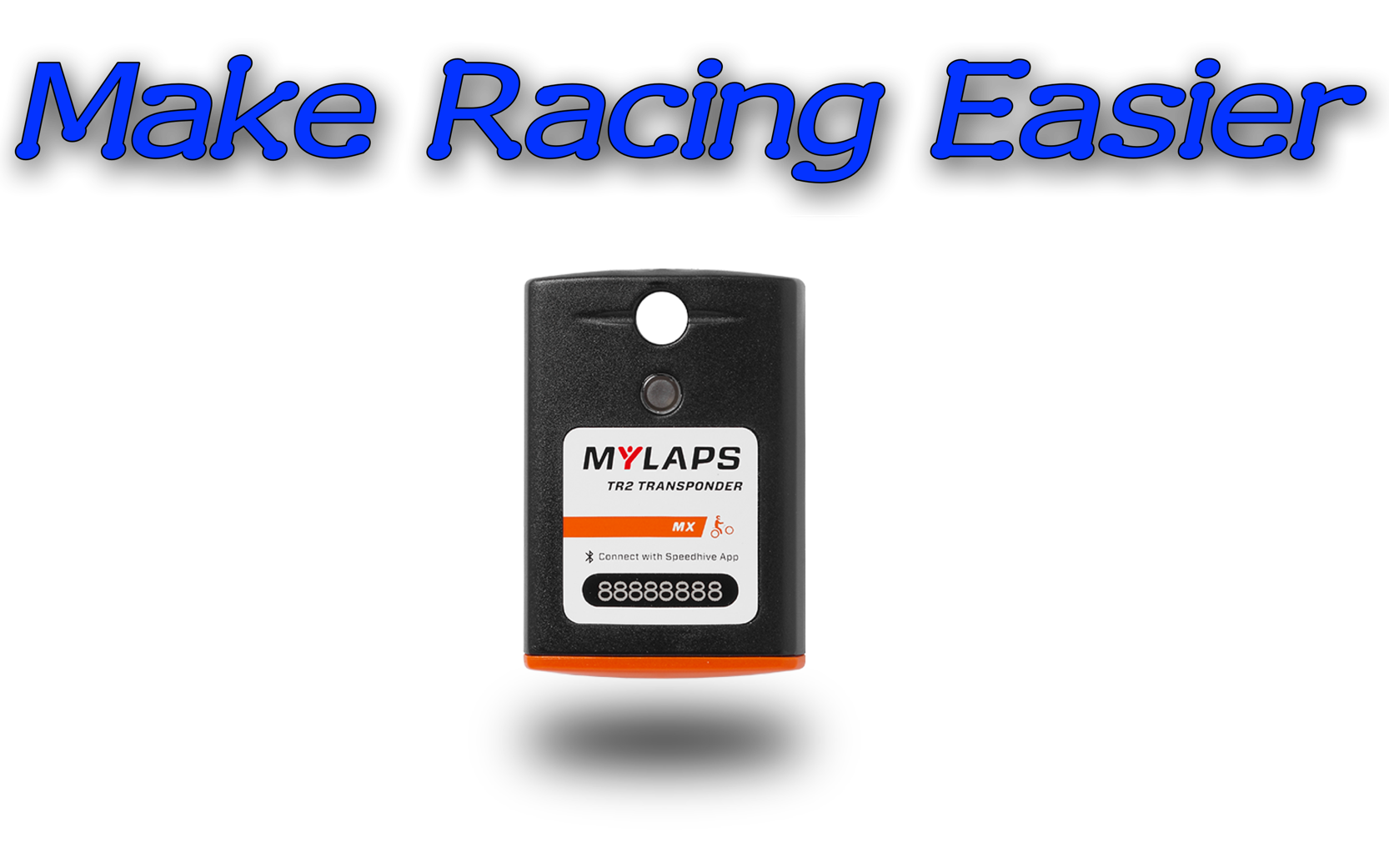 MyLaps TR2 Buy Now - The new standard in sports timing! The TR2 Transponder is the newest and most innovated transponder for motorsports. Reliable hardware, easy subscription management via Bluetooth and the Speedhive App and flexible subscription options to fit your needs.