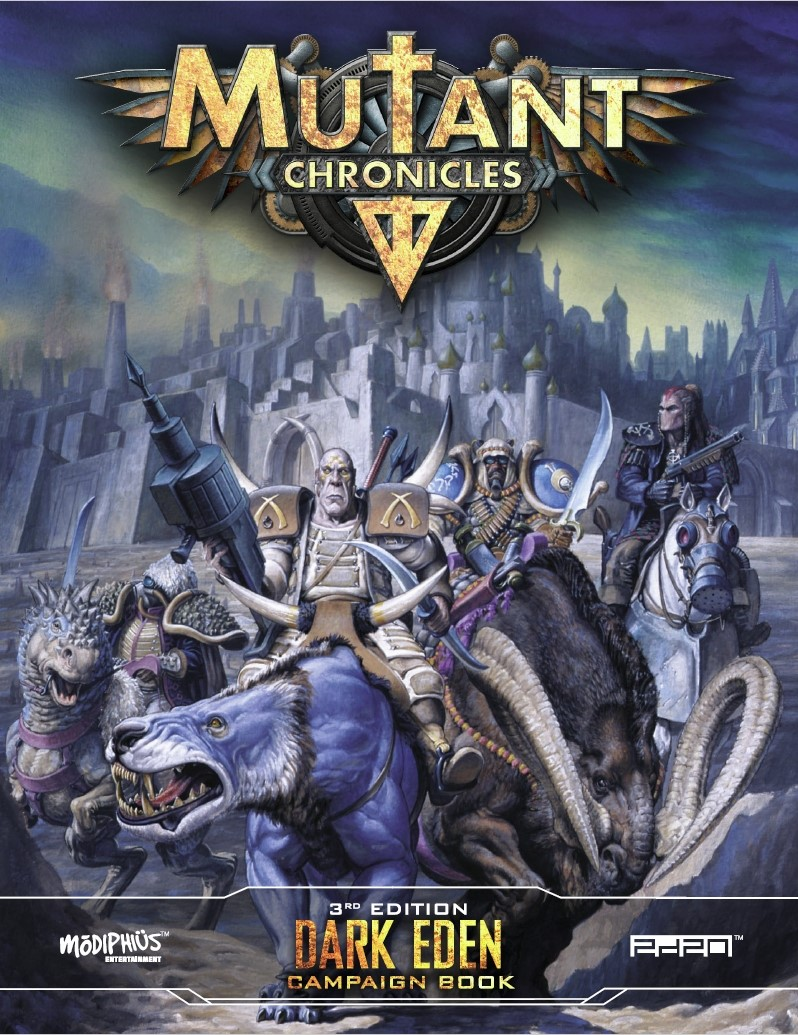 Mutant Chronicles: Dark Eden Campaign Book