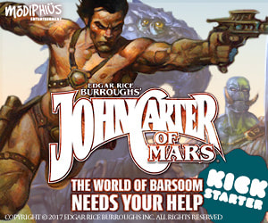 John Carter of Mars Core Rule Book