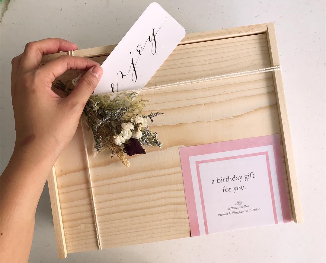 By Carla Gesilva, Winsome Box Gift Curating Studio