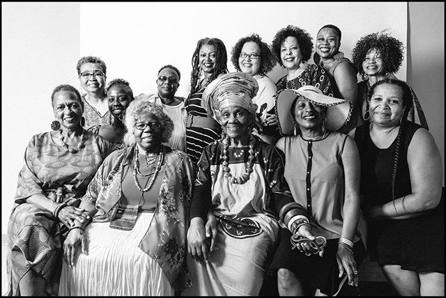 Everyday Black Portrait Sessions at NAAM, what a great time! The sessions began slowly and I wasn't sure how it was gonna go… and then THIS happened! So many Beautiful Elders, so many gorgeous humans they overflowed my sweep! Ase! Thanks to all who showed up. Lets do it again real soon. #portraitphotography #elders #wonderwomen #womenofacertaingrace #everydayblack #brownisgorgeous #d800 #profoto #ringflash #bw #neopan1600 #vsco #naam #thankyou