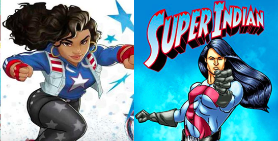 What superheroes look like you? -