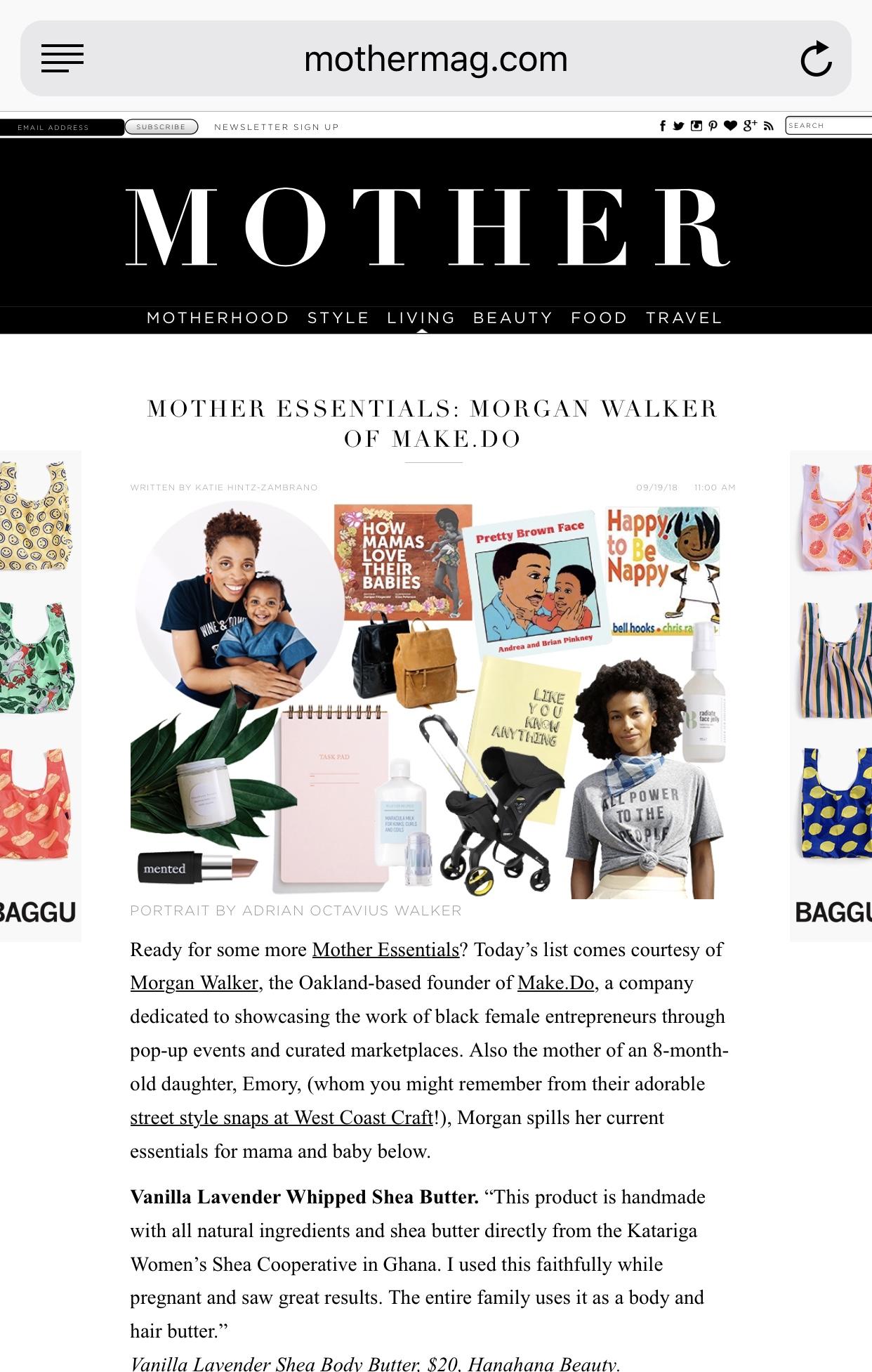 Magazine Feature - essentials list