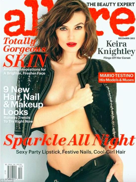 Allure Magazine, Dec. 2012