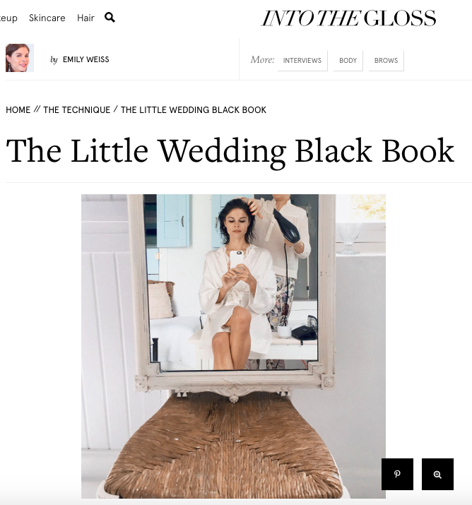 Into The Gloss, The Little Wedding Black Book, 2016