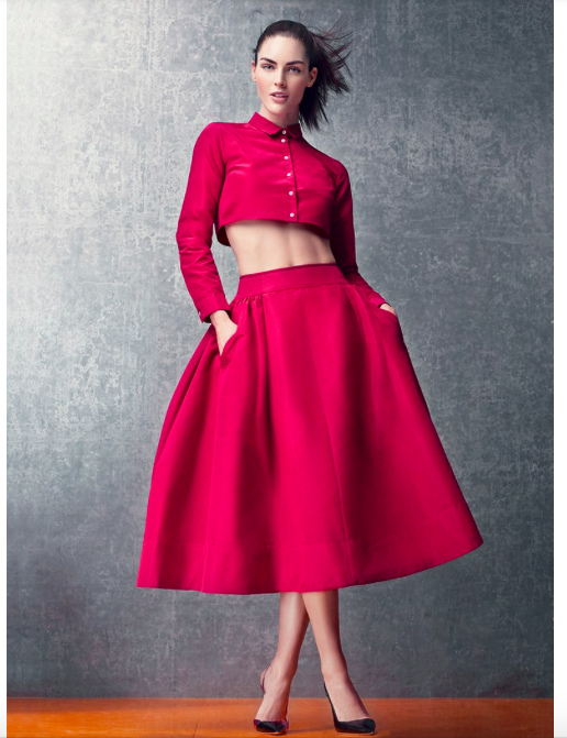Vogue, Best Abs Workout, 2014