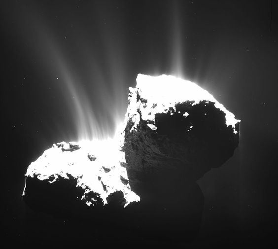 Comet Churyumov-Gerasimenko    astronomy picture of the day ( APOD ) | 03/02/2015