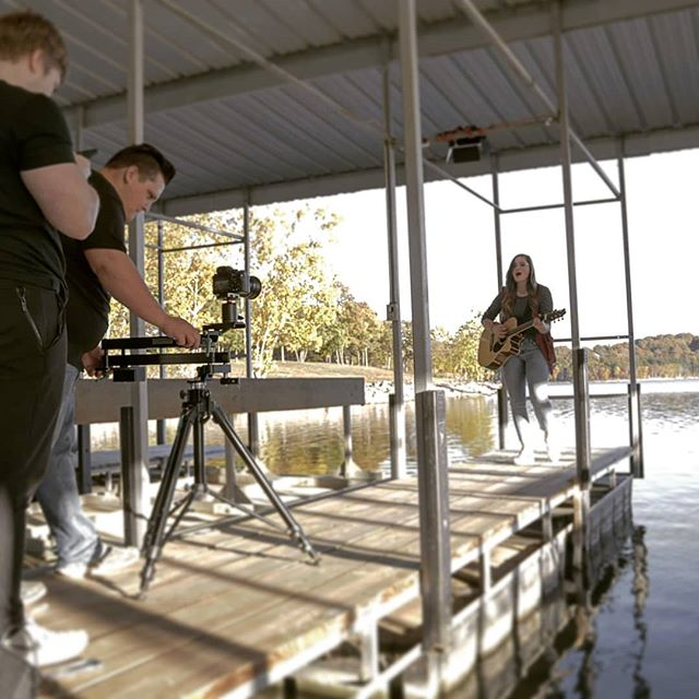 Had a great time yesterday shooting @courtney_adelle for a music video!  #shipgodown #musicvideo #ozarks  Follow @atd.media  Photo: @keagonbryce