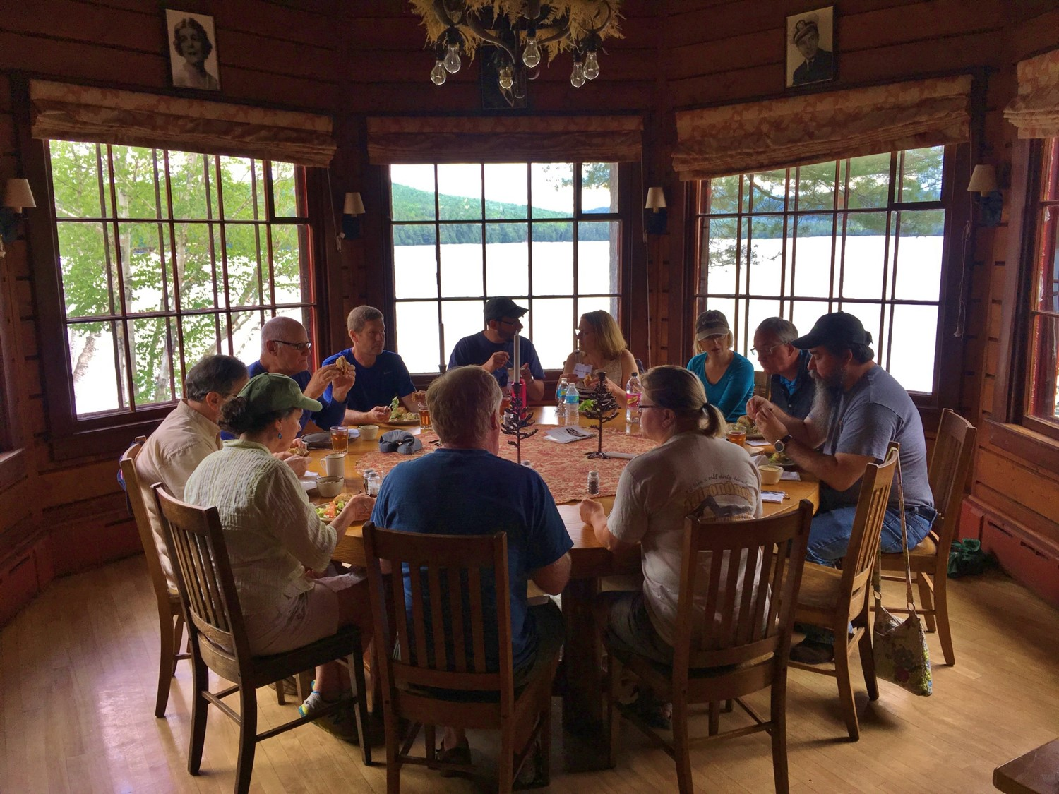 People eating at round table in Dining Room.jpg