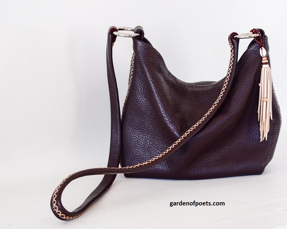 Tasseled handbag by Annalea Mills. Photo and styling by Jennifer Ritchie.