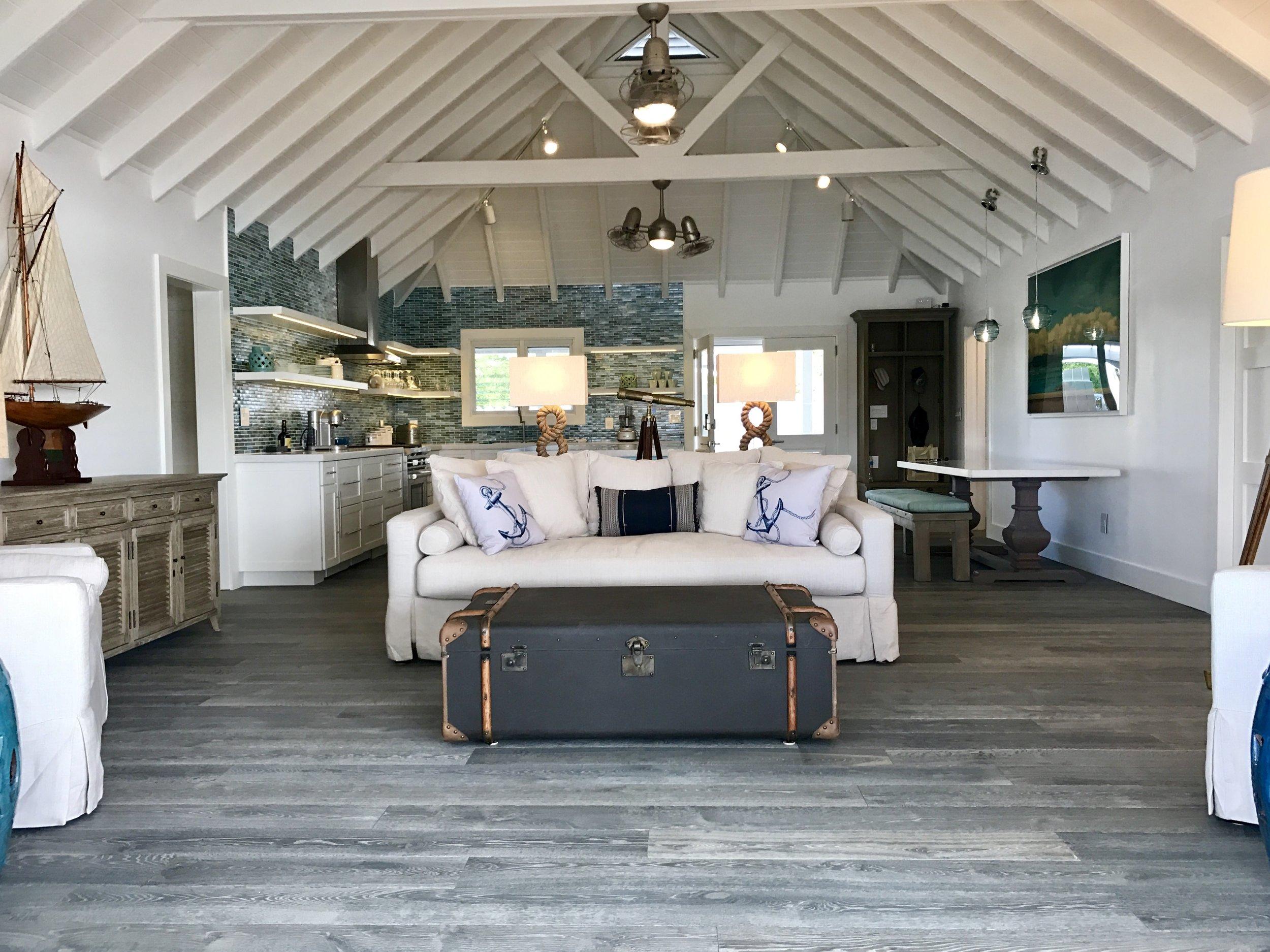 A living room designed by Charmaine B Werth. Photo courtesy of Charmaine B. Werth.
