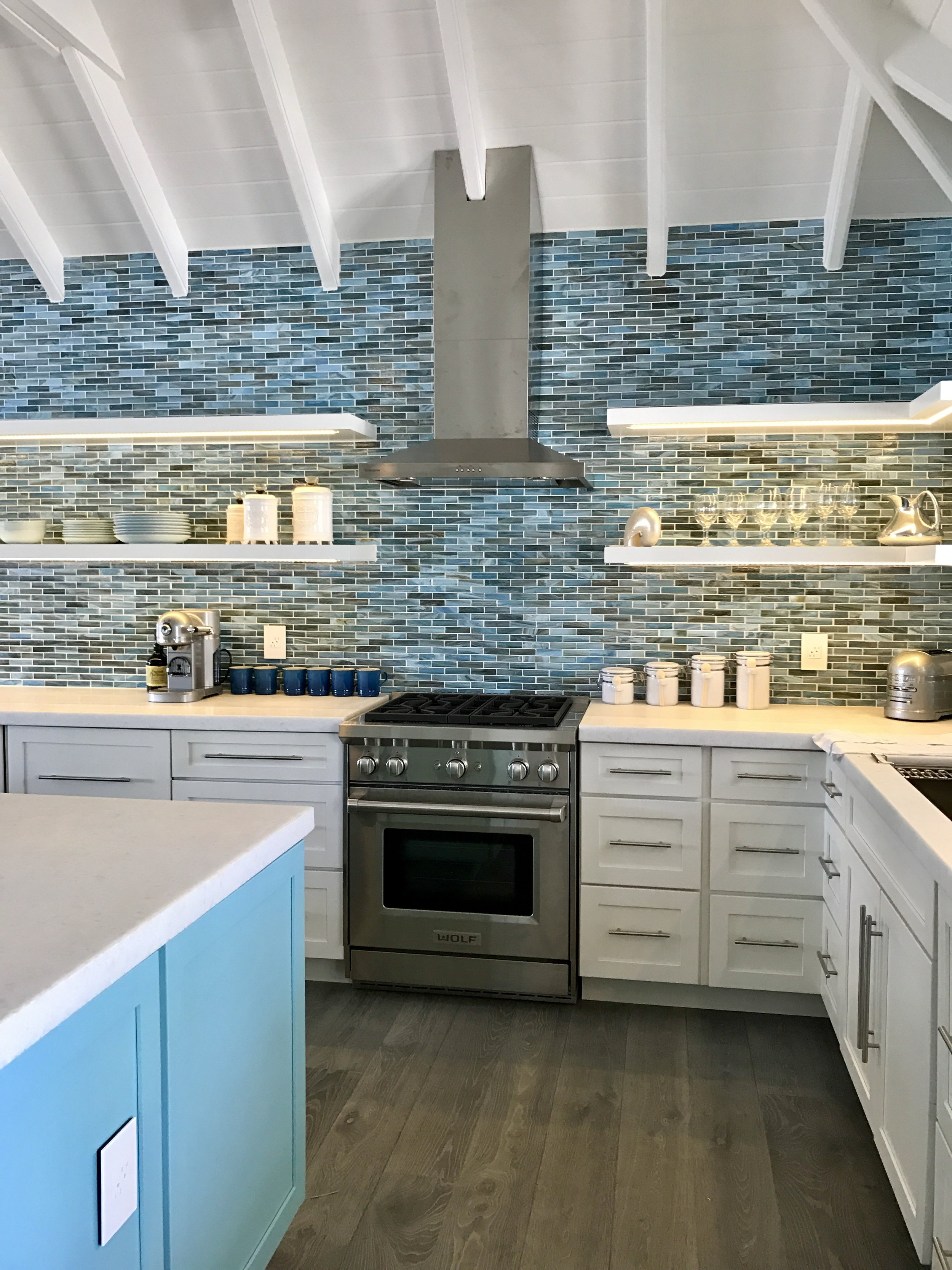 Kitchen design by interior designer Charmaine B Werth. Photo courtesy of Charmaine B Werth,