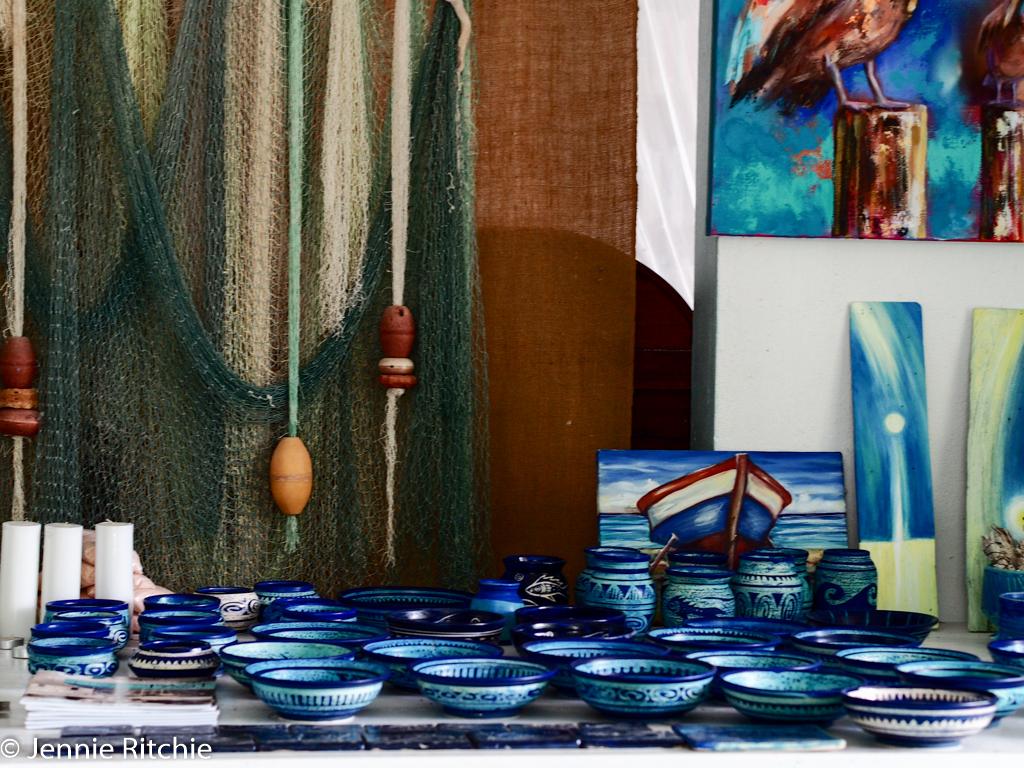 Ceramics by Nancy Nicholson. Photo by Jennie Ritchie