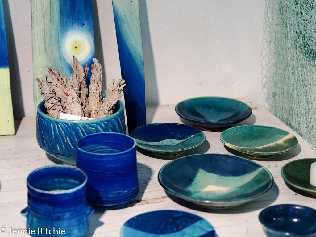 Ceramics by Nancy Nicholson. Photo by Jennie Ritchie.