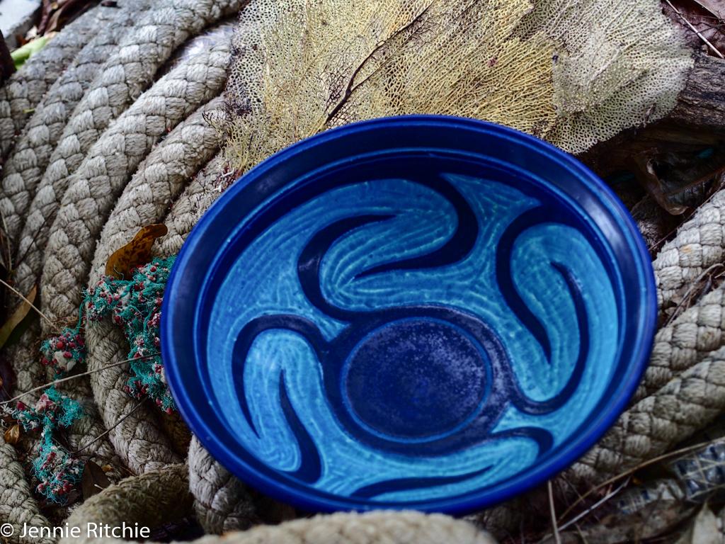 Pottery by Nancy Nicholson. Photo by Jennie Ritchie.