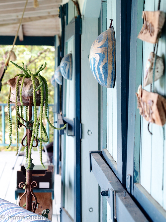 Nancy Nicholson's eclectic and elegant Caribbean home. Photo by Jennie Ritchie.