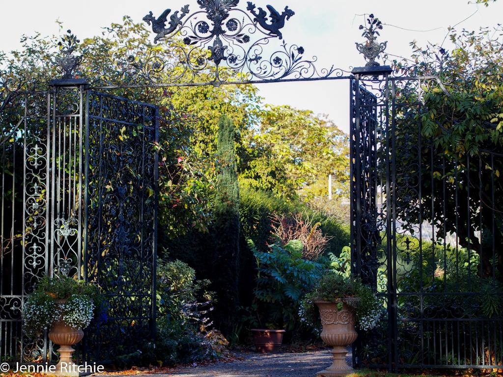 Farmleigh House garden entrance