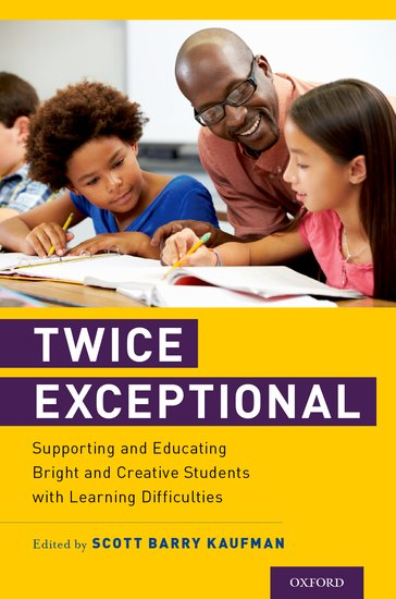 Offers a new, comprehensive definition of twice-exceptional (2e) children, grounded in the latest research  Focuses on diverse populations of learning disabilities (e.g., dyslexia, autism, ADHD) as well as racial/ethnic groups  Includes unique perspectives from clinicians, researchers, and educators  Highlights social-emotional needs in addition to academic needs