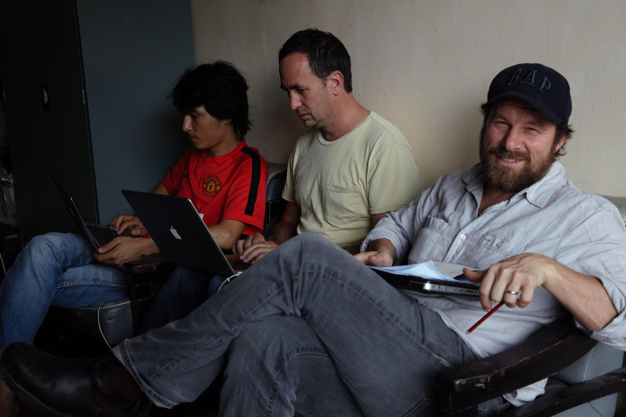 Andrew Commis, one of Australia's best cinematographer to film in the school. My lost Afghan friend.