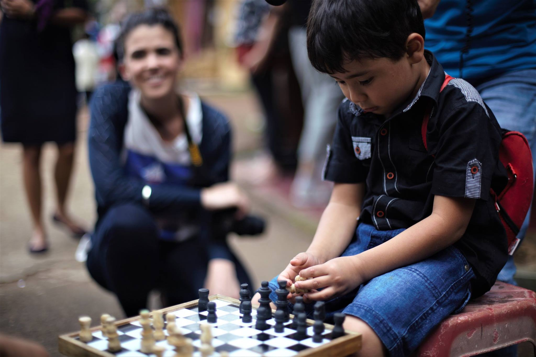 When this young chap, proved to be a tough chess openent for a university student from Australia. Such lovely moment in the film.
