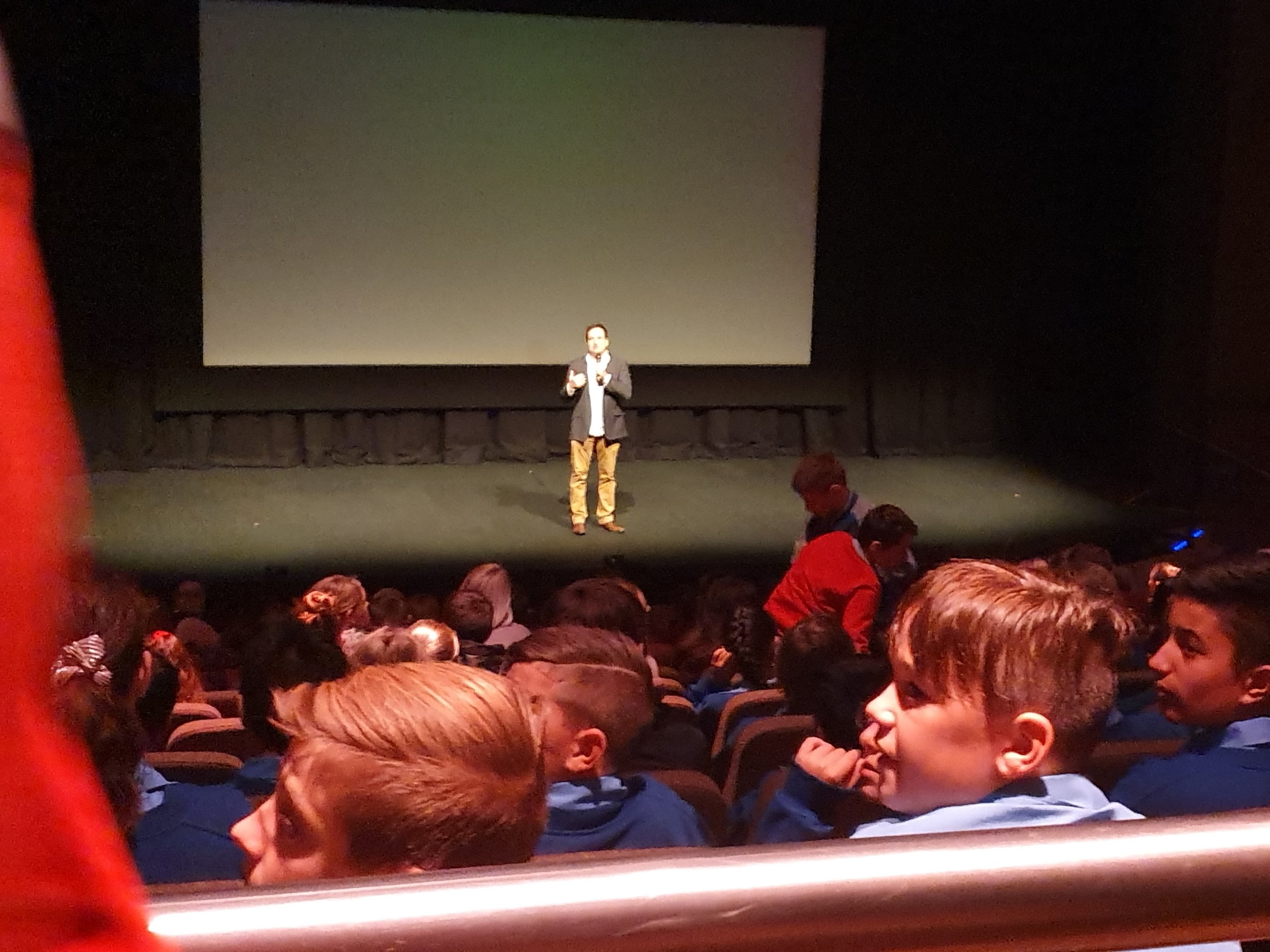 Jolyon introducing the film at Griffith Regional Theatre 1.jpg