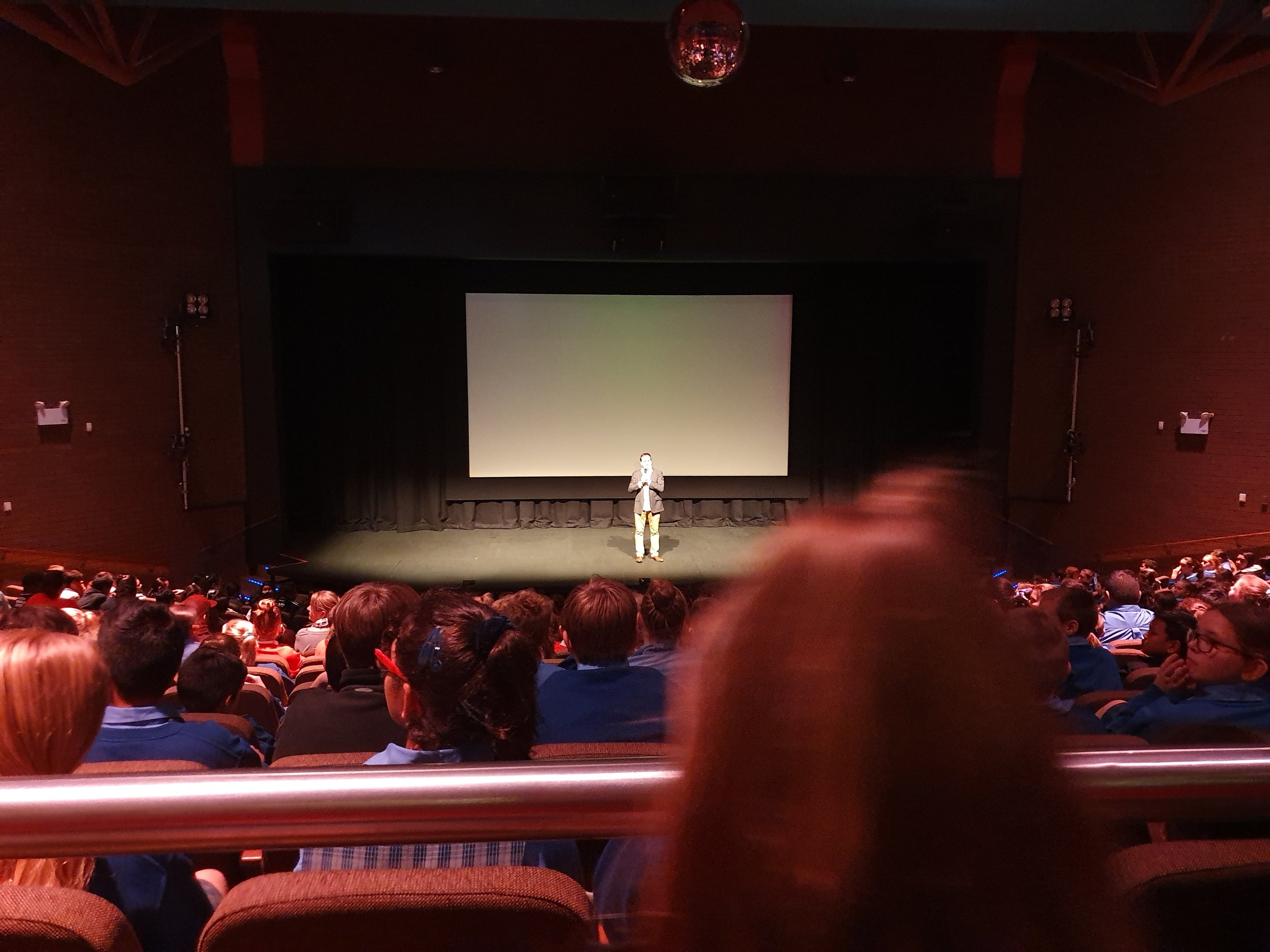 Jolyon introducing the film at Griffith Regional Theatre.jpg