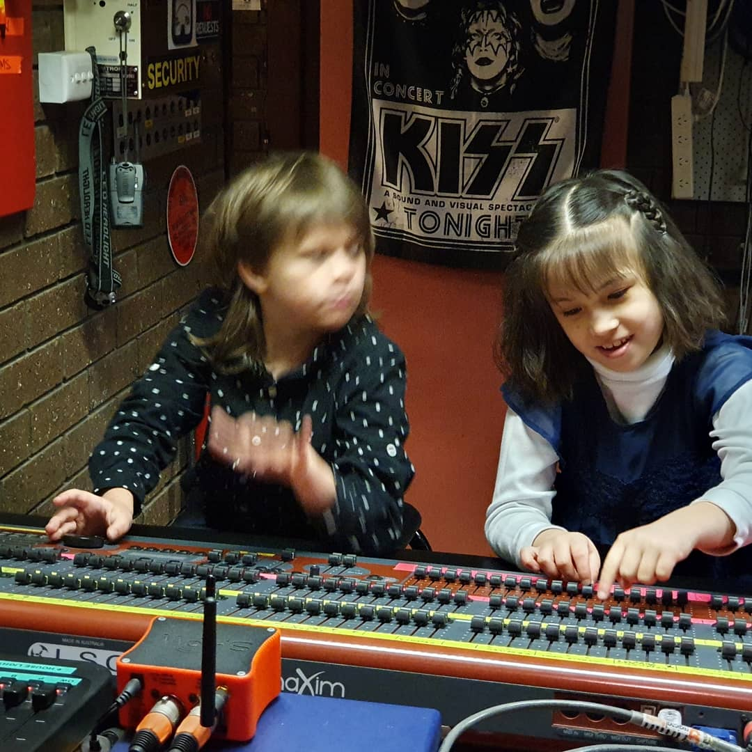 Our two KISS inspired sound engineers in Griffith.jpg