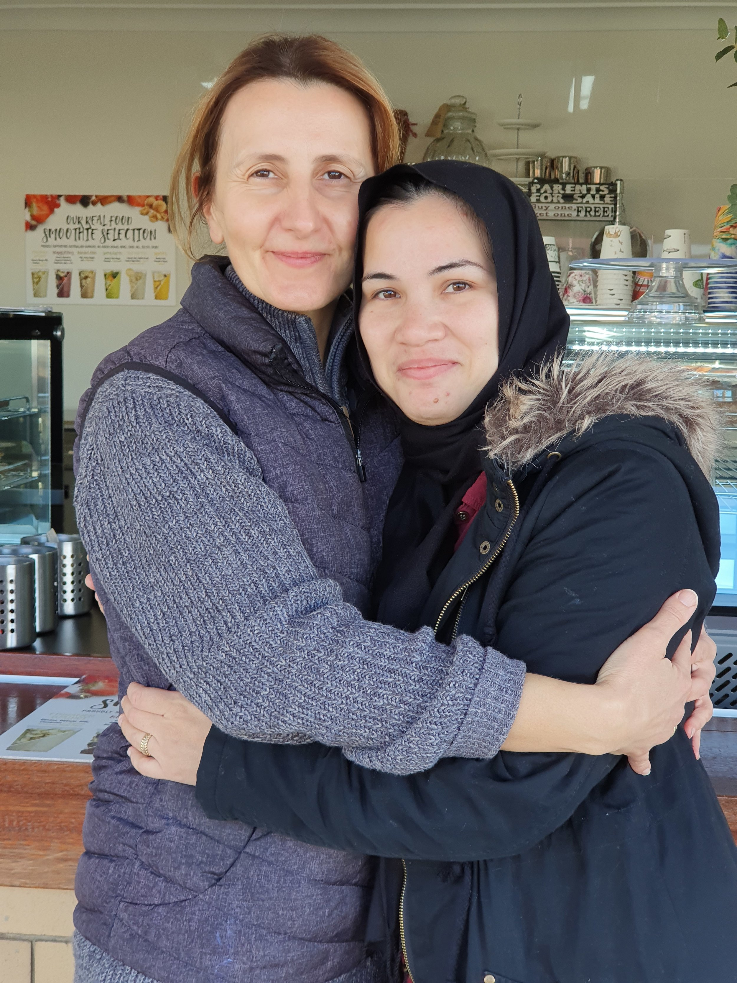 Vesna ran the Jillaroo coffe shop in Moree. She loved meeting someone from Afghanistan, and to speak about Khalid Hosseini's books. We got our coffe's for free and it gave our day a great start.jpg