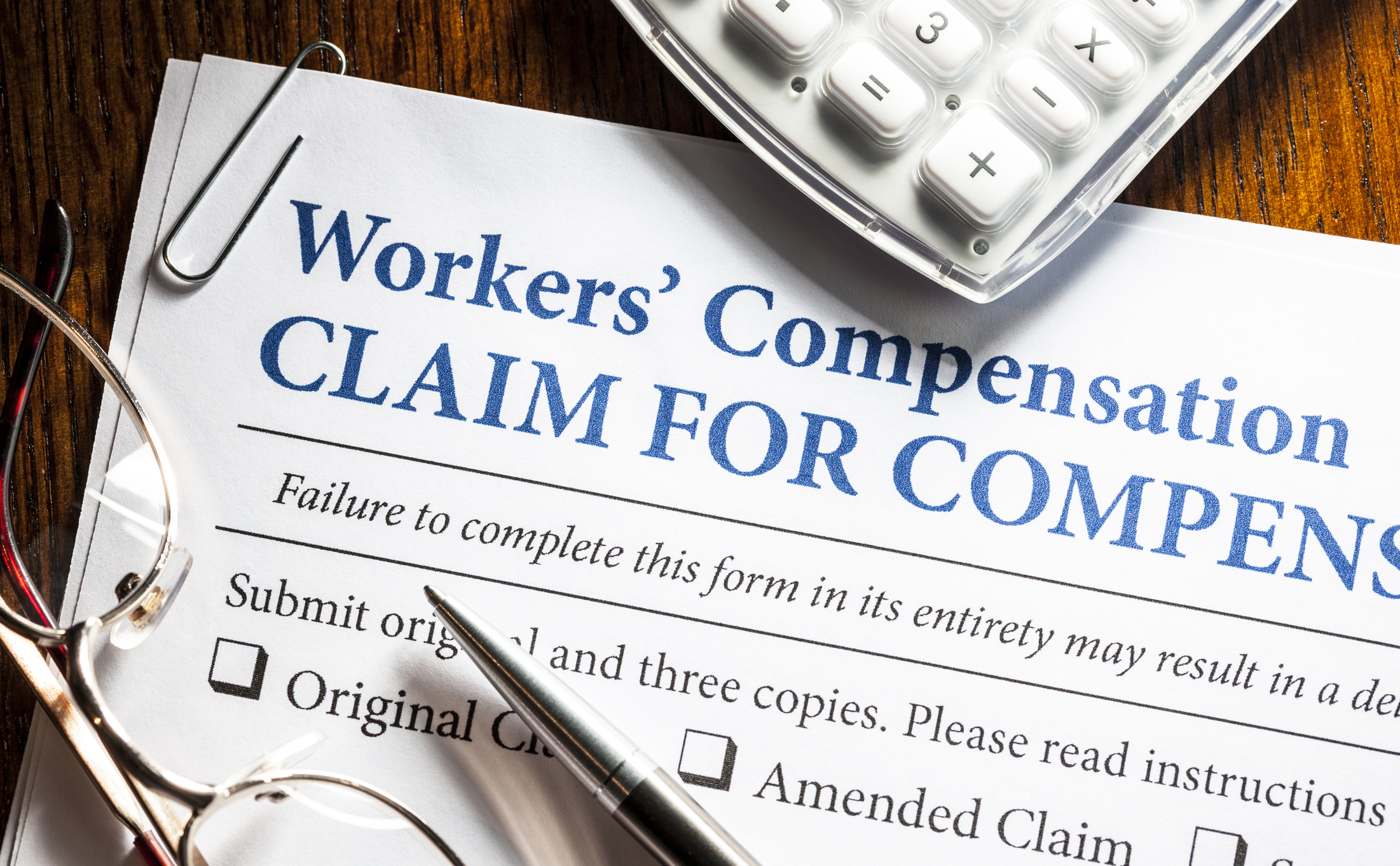 Workers Compensation - Accidents happen. We have you covered in case it happens to you on the job.